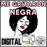 Me gritaron negra: digital poem analysis for heritage speakers