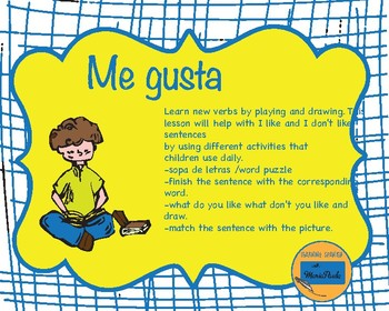 Me gusta - I like