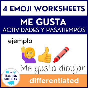 Me gusta Practice - Actividades y Pasatiempos- Emojis {Spa