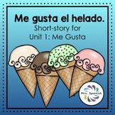 Me gusta el helado