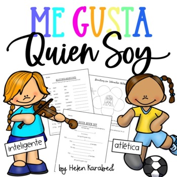 Me gusta quien soy - Poema (Spanish creative activity)