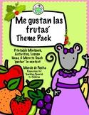 Me gustan las frutas Spanish Theme Pack Fruits Gustar