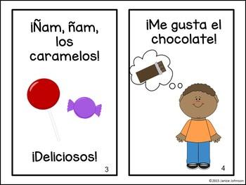 Me gustan los dulces ~ Spanish Candy & Sweets Reader {en español}