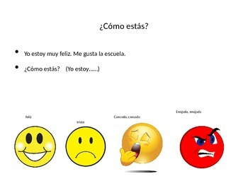 Me llamo/My Name is PowerPoint Lesson Grades 2-3