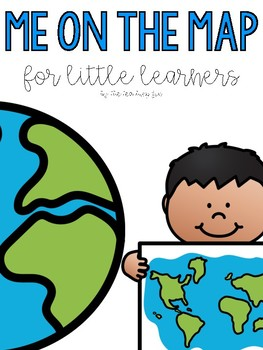 Me on the Map - A Book Companion for Little Learners!