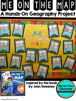DISTANCE LEARNING PACKET Me on the Map Flip Book | Map Skills  Activities