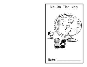 Me on the Map Activity Book