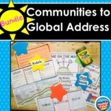Me on the Map Bundle: 3 Kinds of Communities to Global Address