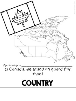 Me on the Map: CANADIAN EDITION
