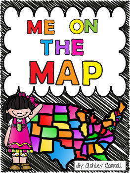 Me on the Map Craftivity
