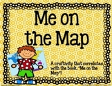 Me on the Map Craftivity {Craftivity and Map Skills Practice}