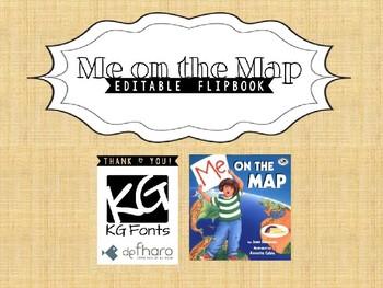 Me on the Map - Editable Flipbook
