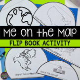 Me on the Map (Geography Flip Book)