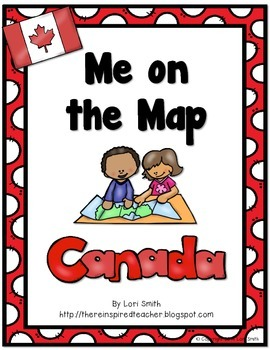 Me on the Map Flipbook CANADA