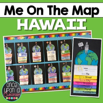 Me on the Map - Hawaii!