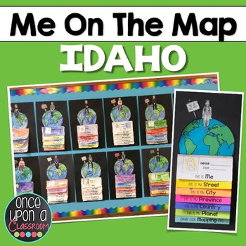 Me on the Map - Idaho!