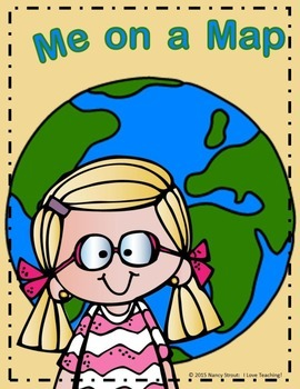 Me on the Map Lapbook