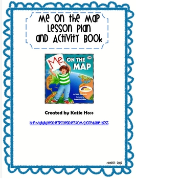 me on the map lesson plan and activity book by creative classroom