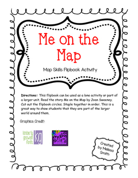 Me on the Map - Map Skills Activity