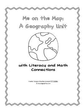 Me on the Map: Map Unit with Literacy and Math Connections