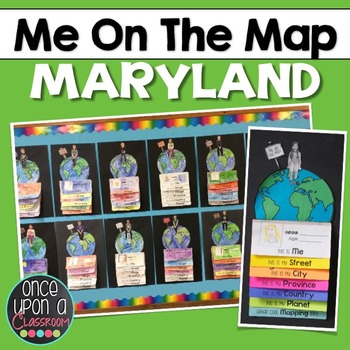 Me on the Map - Maryland