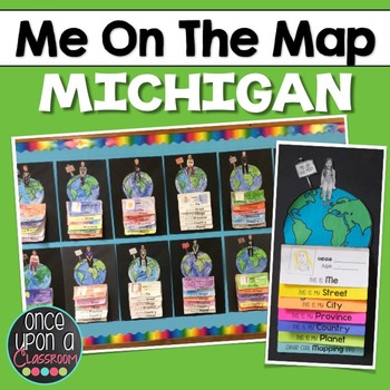 Me on the Map - Michigan