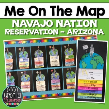 Me on the Map - Navajo Nation Reservation - Arizona!