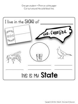 Me on the Map - North Carolina!