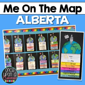 Me on the Map - Alberta