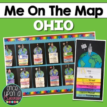 Me on the Map - Ohio for Kindies