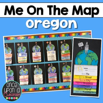 Me on the Map - Oregon