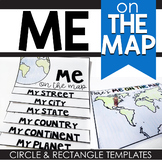 Me on the Map Project (Circle and Rectangle Project Choices)