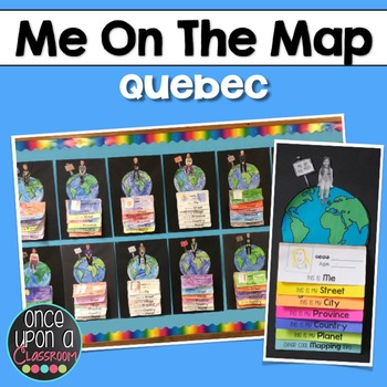 Me on the Map - Quebec