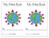 Me on the Map- Questions and Atlas Book! First, Second Grade