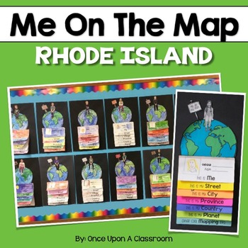 Me on the Map - Rhode Island!