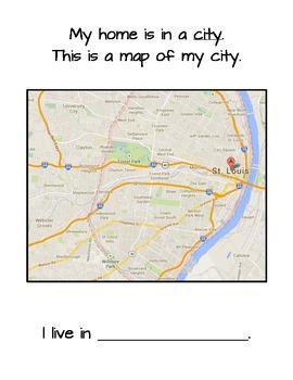 Me on the Map: Saint Louis, Missouri