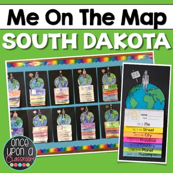 Me on the Map - South Dakota