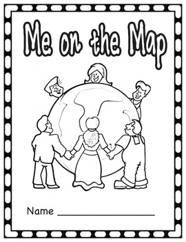 Me on the Map Student Book (All 50 states included)
