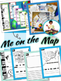 Me on the Map | Social Studies (Tab Booklet)