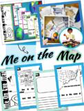 Me on the Map Flipbook   Social Studies (Tab Booklet)
