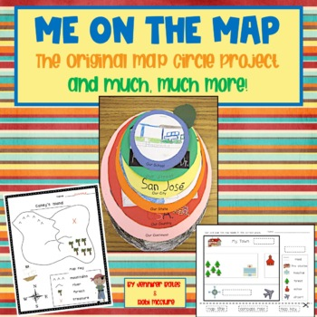 Me On The Map The Original Map Circle Project And Much
