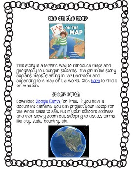 Me on the Map: The Original Map Circle Project and Much, Much More!