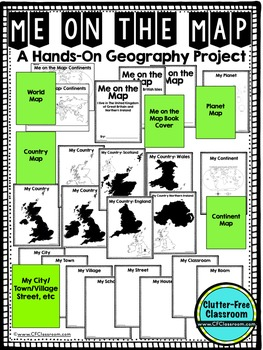 Me on the Map, UNITED KINGDOM - A Social Studies & Language Arts Project