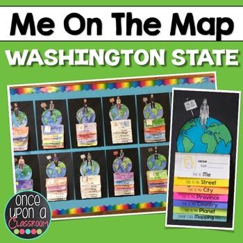 Me on the Map - Washington State