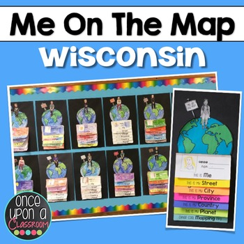 Me on the Map - Wisconsin