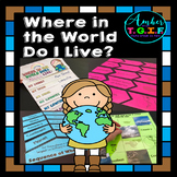 Me on the Map activities – Where Do I Live