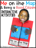 Me on the Map and Being a Good Citizen Social Studies Interactive Activities