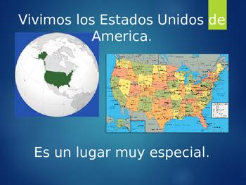 Me on the map/Yo en el mapa SPANISH