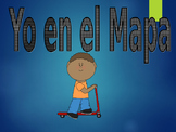 Me on the map/Yo en el mapa SPANISH
