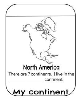 Me on the map bundle English / Spanish